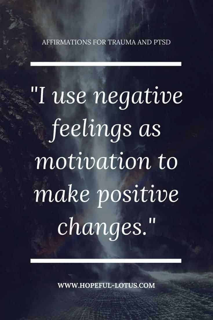 Healing from previous trauma can be overwhelming and even lead to Post Traumatic Stress Disorder. Using positive affirmations for trauma can help calm symptoms of PTSD by working with the law of attraction. Incorporate these mantras for trauma and PTSD into your meditation or mindfulness practice for natural anxiety relief.