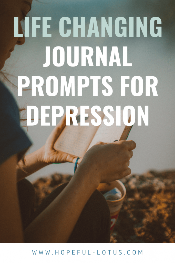Journaling is a powerful tool for mental health and can help release emotions and provide clarity in times of low mood. However, it can be difficult to find the words or know what to write about to get started, which is where journaling prompts for depression come in. Save this list of journal prompts for depression and you will never be stuck on what to write in your journal again!