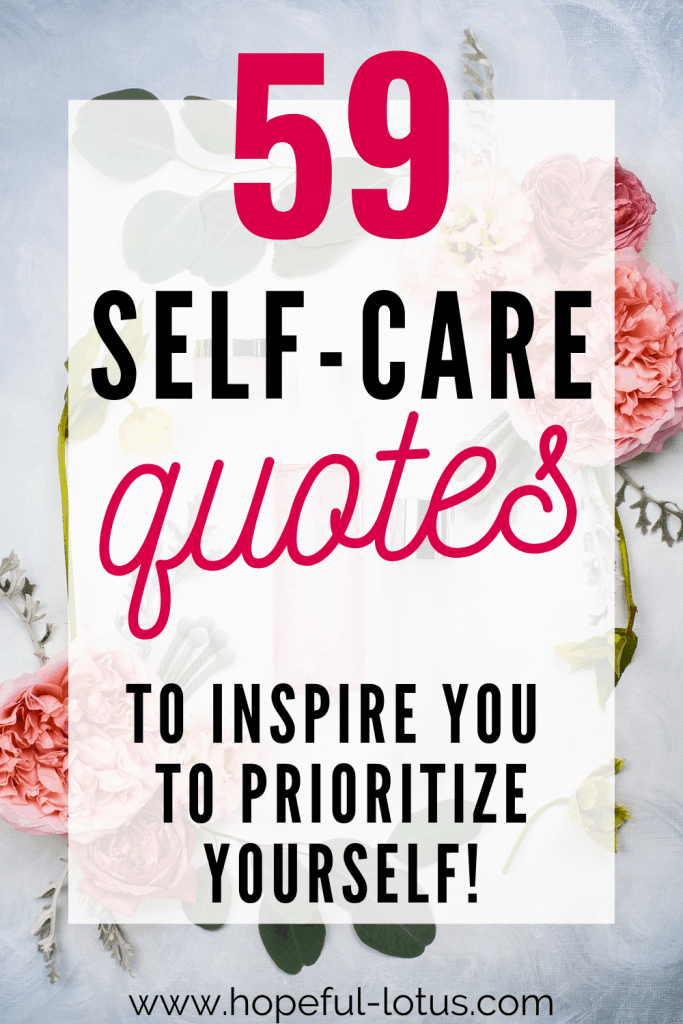 Rest and recovery is essential for our mental health! These self care quotes are all about the importance of practicing self care. They're designed to give you the boost of motivation you need to love yourself! #selfcare