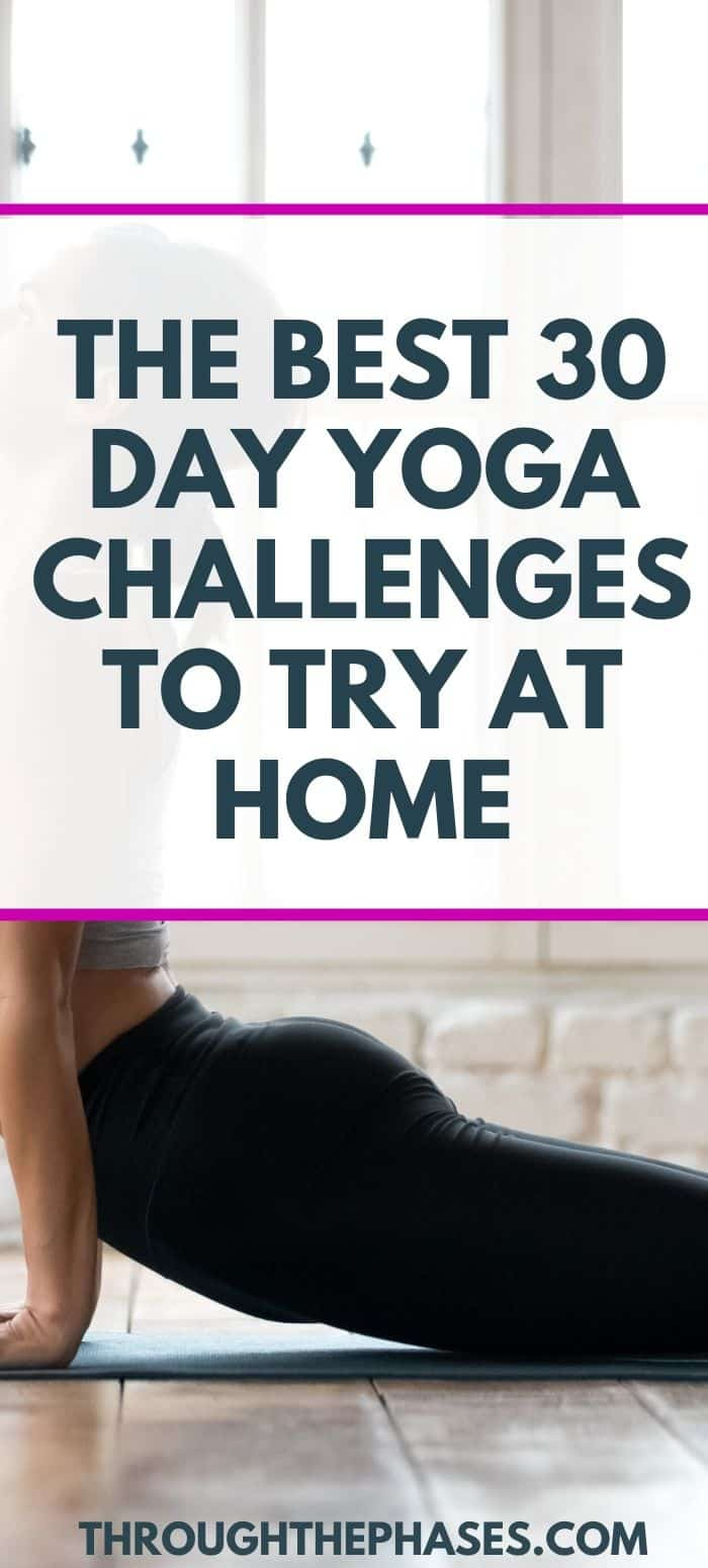 30 day yoga challenges for home practice