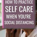 self care social distancing