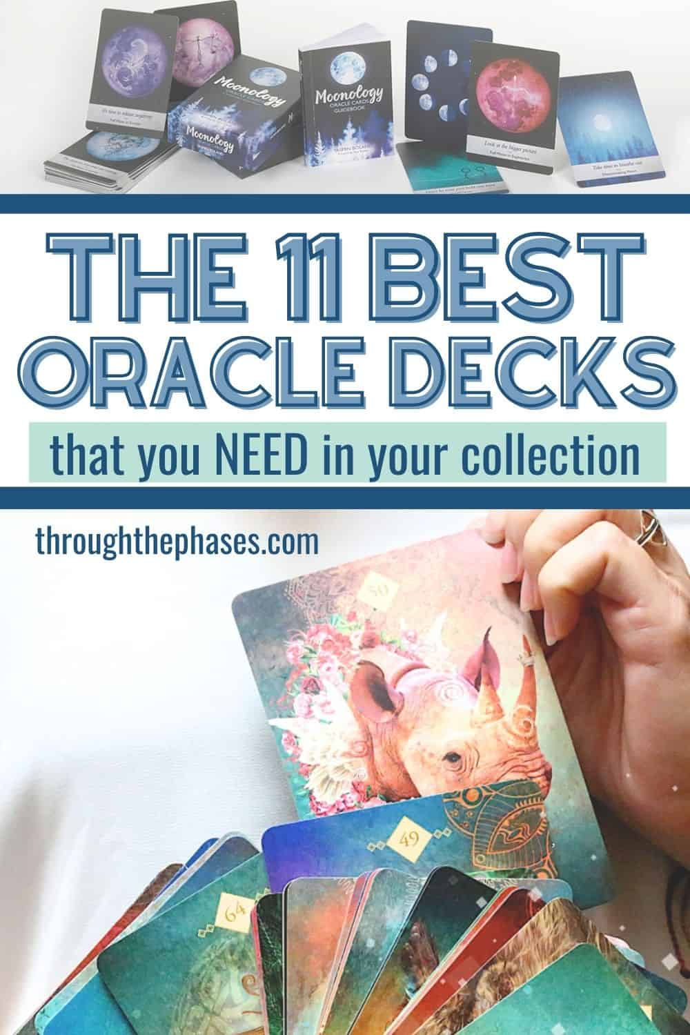 11 best oracle decks that you need in your collection