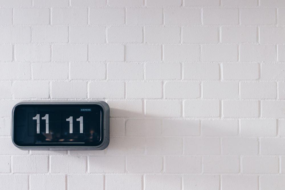 1111 on clock